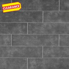 Clearance! Uptown Antracite Matte Porcelain Tile