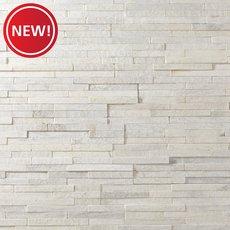 New! Celeste White Quartzite Panel Ledger