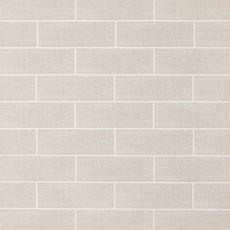 White Cotton Linen Polished Ceramic Tile