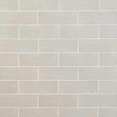 White Cotton Tribal Polished Ceramic Tile