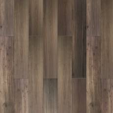 Woodville Marron Wood Plank Porcelain Tile