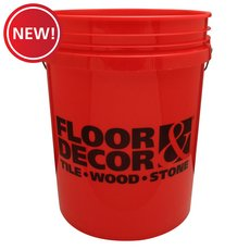New! Floor and Decor Logo Red Bucket
