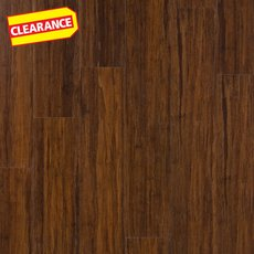 Clearance! Heritage Bamboo Rigid Core Luxury Vinyl Plank - Foam Back