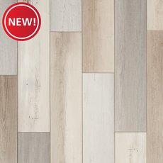 New! Farmhouse Medley Rigid Core Luxury Vinyl Plank - Cork Back