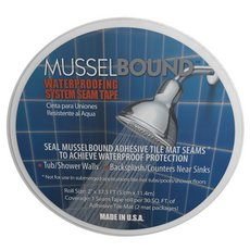 MusselBound Waterproofing System Seam Tape