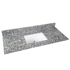 Kendall Gray Granite 49 in. Vanity Top
