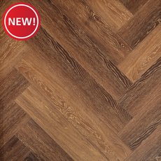 New! Oak Trail Herringbone Water-Resistant Laminate