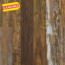 Clearance! Homestead Hickory Water-Resistant Laminate