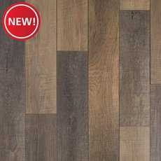 New! Cobblestone Oak Multi-Length Water-Resistant Laminate