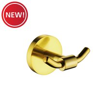 New! Brushed Gold Robe Hook