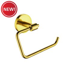 New! Brushed Gold Toilet Paper Holder
