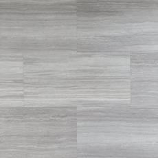 Travertine Mist Rigid Core Luxury Vinyl Tile - Foam Back