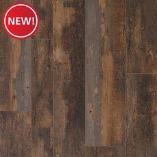 New! Old Barn Oak Rigid Core Luxury Vinyl Plank - Cork Back
