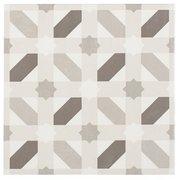 Lattice Gray Matte Porcelain Tile