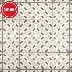 New! Lattice Gray Matte Porcelain Tile