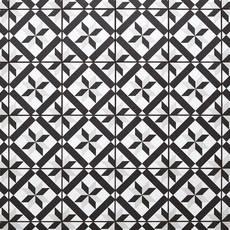 Craft Black and White Matte Porcelain Tile