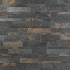 Forest Multi Color Slate Peel and Stick Ledger Panel