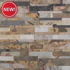 New! Autumn Mist Slate Peel and Stick Ledger Panel