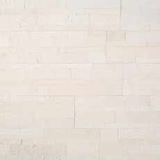 Colorado White Marble Peel and Stick Ledger Panel