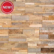 New! Texas Ranch Peel and Stick Wood Wall Panel