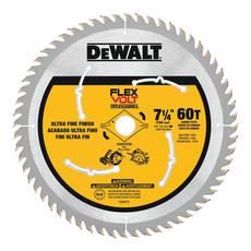 DeWalt 7 1/4in. 60T Flexvolt Circular Saw Blade