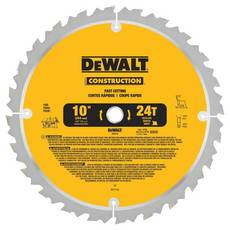 DeWalt 10in. 24T Large Diameter Jobsite Saw Blade