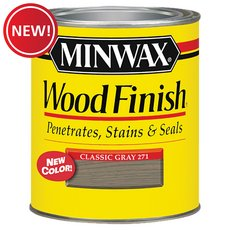 New! Minwax Classic Gray 271 Wood Finish Stain