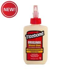 New! Titebond Original Wood Glue