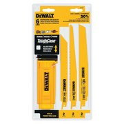DeWalt 6 Piece Reciprocating Saw Blade Set