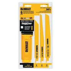 DeWalt 6 Piece Reciprocating Saw Blade Set