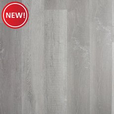 New! Soft Grey Oak Rigid Core Luxury Vinyl Plank - Cork Back