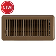 New! Brown Floor Register