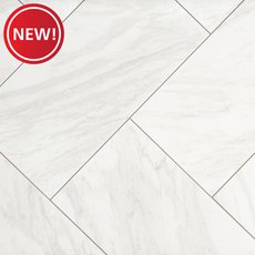 New! Arita White Matte Porcelain Tile