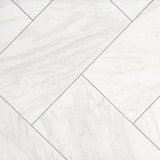 Arita White Matte Porcelain Tile