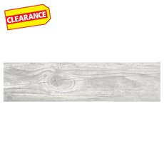 Clearance! Westford Gray II Wood Plank Porcelain Tile