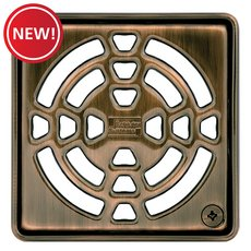 New! Schluter Kerdi-Drain 4in. Grate Oil Rubbed Bronze
