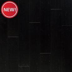 New! Titan Black II Hand Scraped Solid Stranded Bamboo