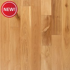 New! Riga White Oak Wire Brushed Solid Hardwood