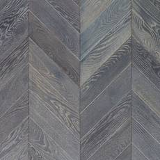 Canterbury Gray Chevron Oak Wire Brushed Engineered Hardwood