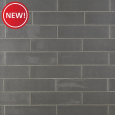 New! Artisan Nickel Polished Ceramic Tile
