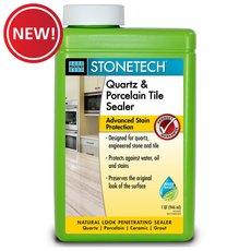 New! Laticrete StoneTech Quartz and Porcelain Tile Sealer