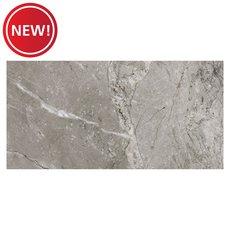 New! Castleton Gray Polished Porcelain Tile