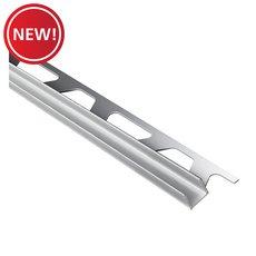 New! Schluter Deco-Sg 3/8in. Aluminum Satin 15mm