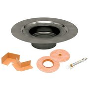 Kerdi-Drain Flange 3in. Stainless Steel