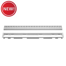 New! Schluter Kerdi-Line 3/4in. Frame 24in. Perforated Grate