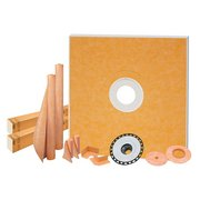 Schluter Kerdi-Shower Kit 72in. x 72in. ABS Flange 2