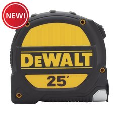 New! Dewalt 25ft. x 1-1/4in. Tape Measure
