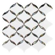 Calla Tahitian Mother of Pearl Waterjet Mosaic