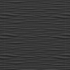 Onda Black Matte Ceramic Tile