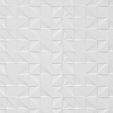 Cubo White Polished Ceramic Tile